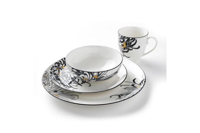 Denby Monsoon Chrysanthemum 16 Piece Set