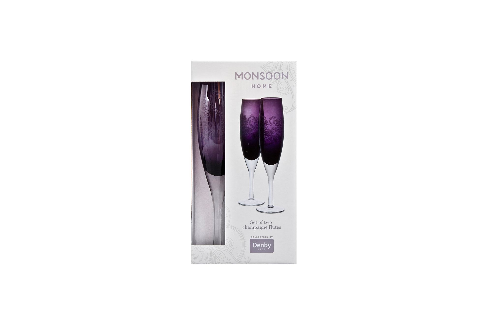 Denby Monsoon Cosmic Flute - Set of 2 thumb 1