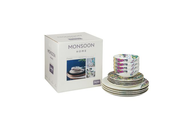 Denby Monsoon Cosmic 12 Piece Set