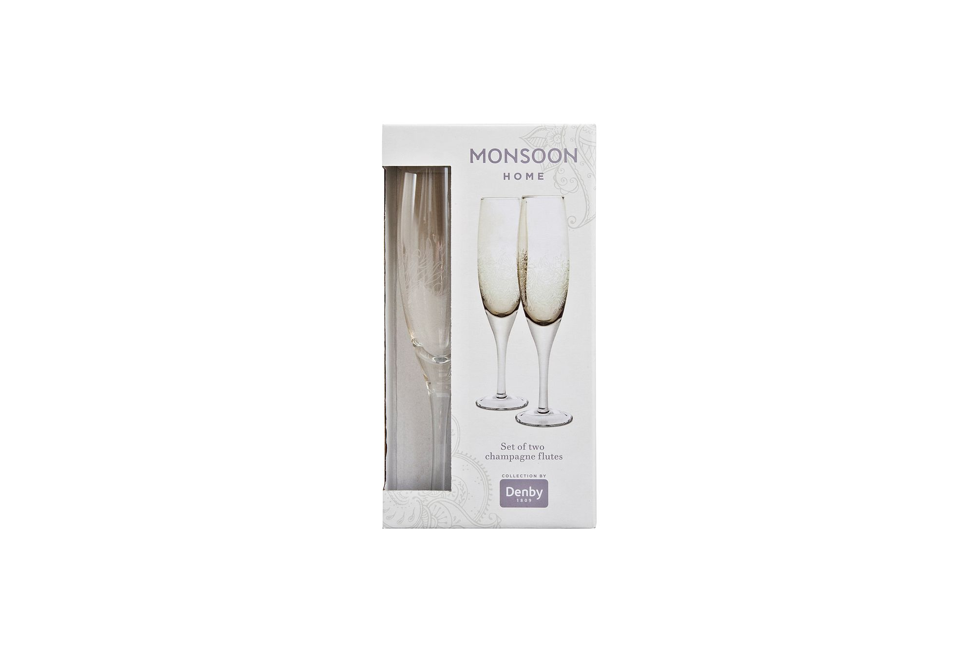 Denby Monsoon Lucille Gold Flute - Set of 2 thumb 1
