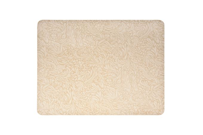Denby Monsoon Lucille Gold Placemats - Set of 4 30.5 x 23cm