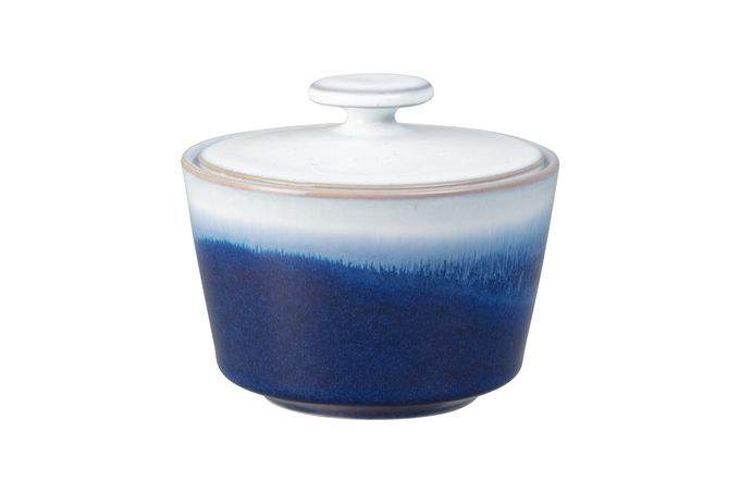 Denby Blue Haze Sugar Bowl - Lidded (Tea)