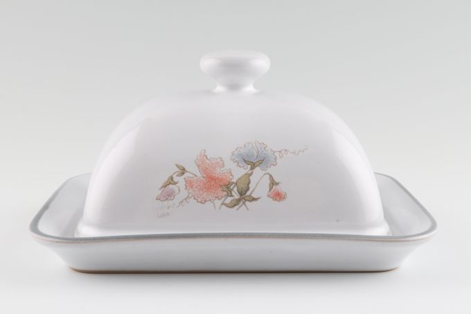 Denby Encore Butter Dish + Lid Domed - Knob On Lid