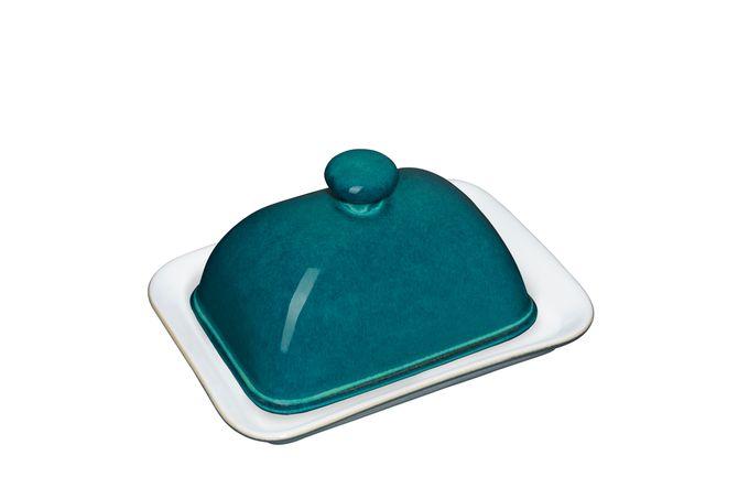 Denby Greenwich Butter Dish + Lid Knob Handle
