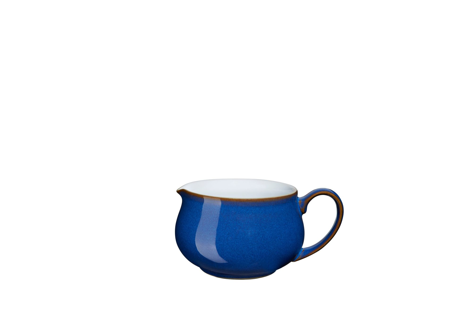Details about Denby IMPERIAL BLUE Footed Coffee Tea Cup Mug FREE SHIPPING!
