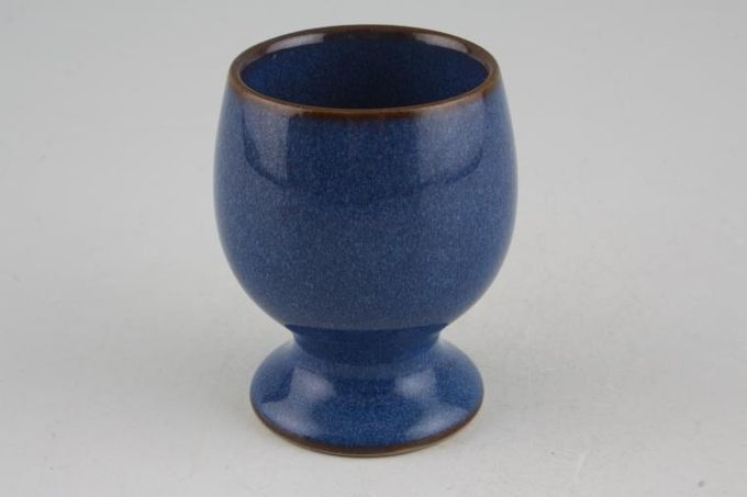 Denby Imperial Blue Egg Cup Old style 1 3/4 x 2 1/2""
