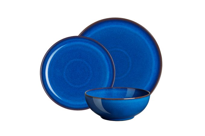 Denby Imperial Blue 12 Piece Set