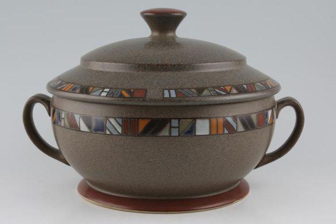 Denby Marrakesh Casserole Dish + Lid round - 2 handles 3pt