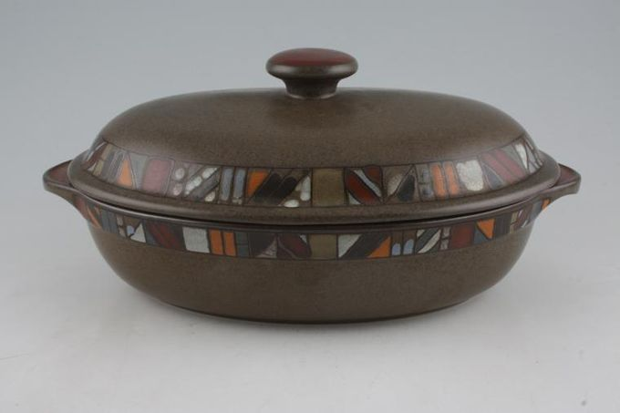 Denby Marrakesh Casserole Dish + Lid Oval