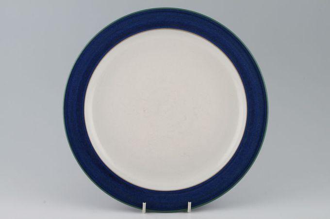 """Denby Metz Dinner Plate White inner Shades vary 10 1/2"""""""