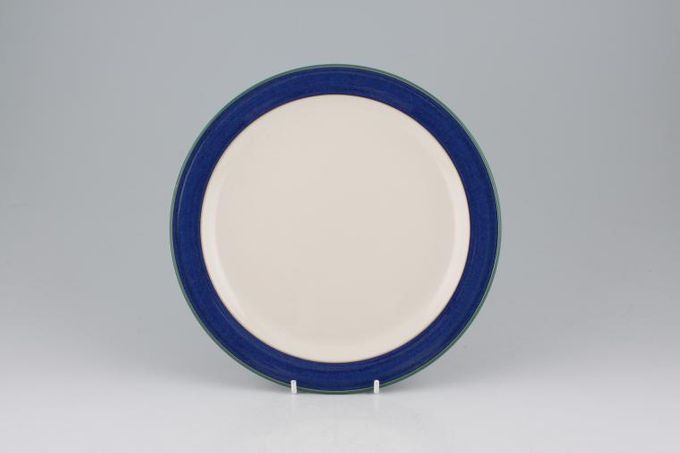 Denby Metz Breakfast / Lunch Plate White inner - Shades vary 8 3/4""