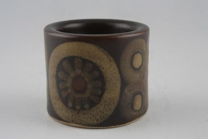 """Denby Arabesque Egg Cup Some variation in height 2 x 1 3/4"""""""