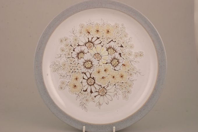 Denby Reflections Dinner Plate Old Style White Background 10 1/4""