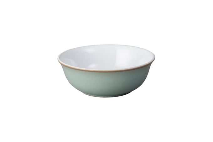 Denby Regency Green Oatmeal / Cereal / Soup 16.5cm