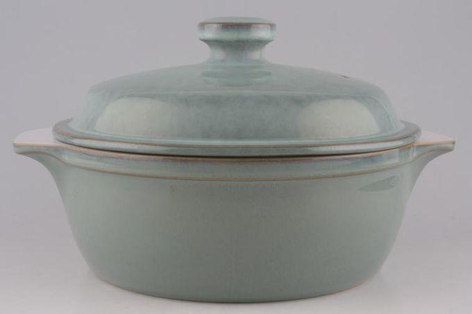 Denby Regency Green Casserole Dish + Lid Eared 4pt