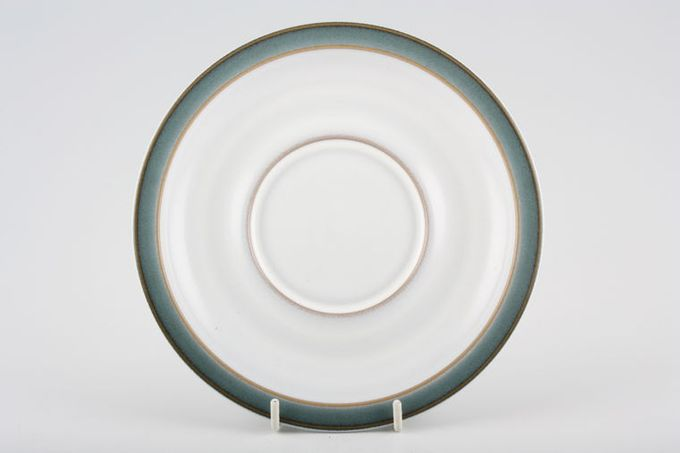 Denby Regency Green Breakfast Saucer Same as Gravy Stand 6 7/8""