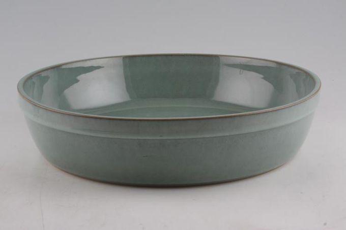 "Denby Regency Green Serving Dish Round 12 x 2 3/4"""