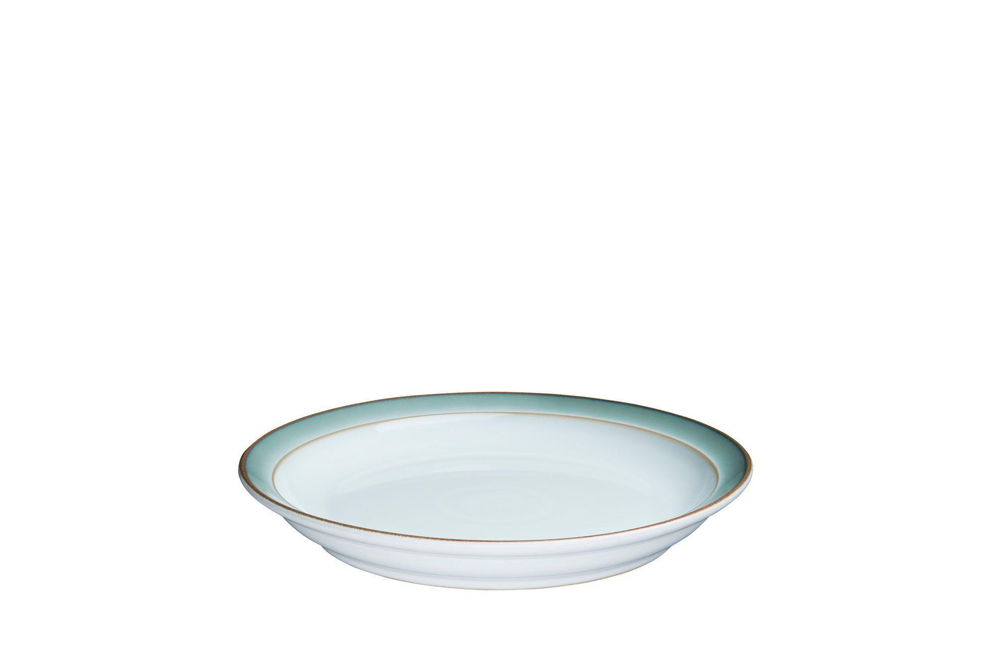 Denby Regency Green Tea Plate Deep Plate 18.5 x 3cm thumb 1