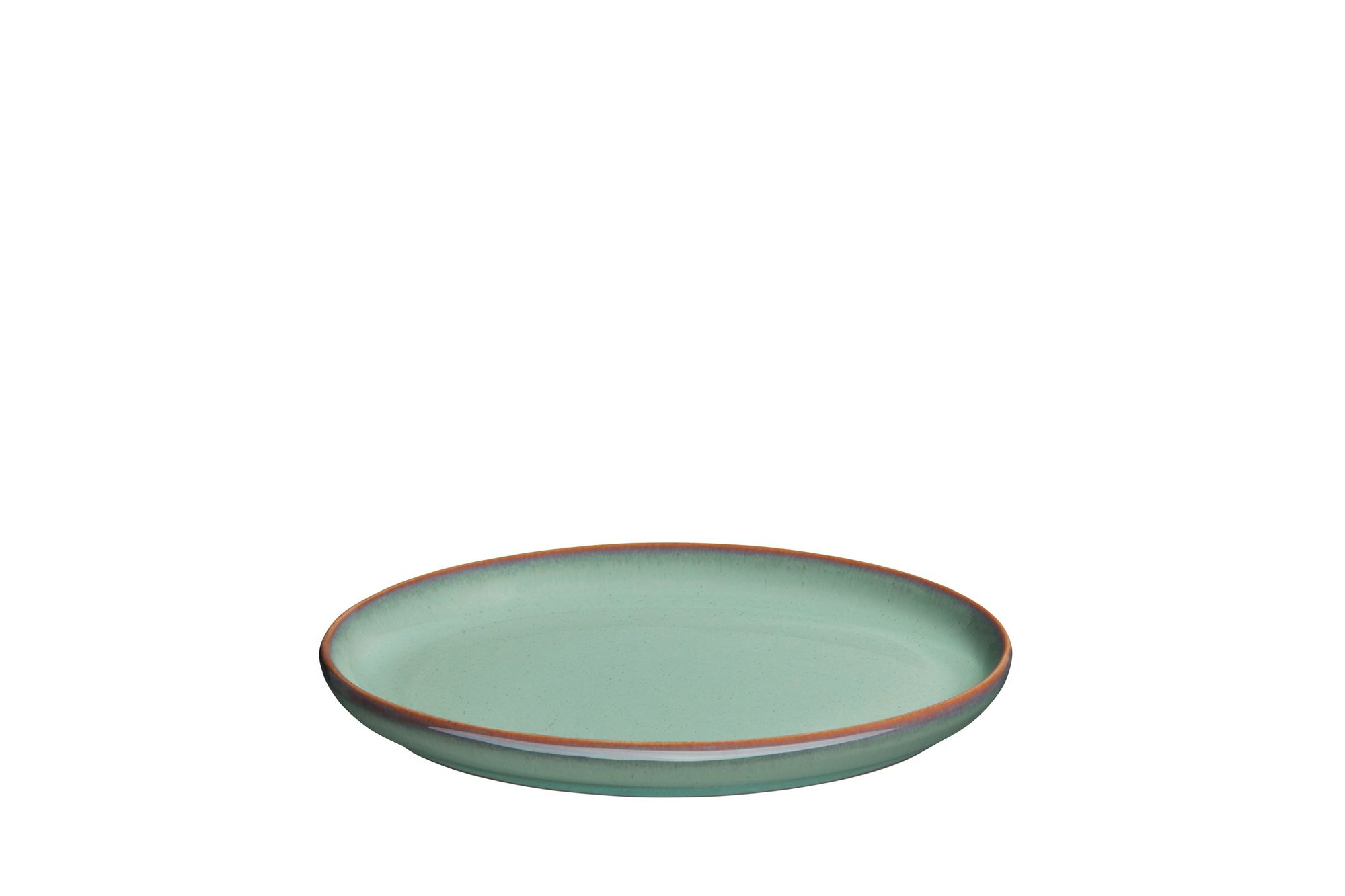 "Denby Regency Green Serving Tray Small Oval Tray 19 x 14"" thumb 2"