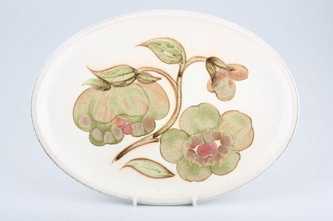 """Denby Troubadour Oval Plate / Platter 12 3/4"""""""