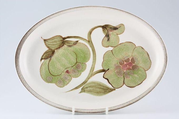 """Denby Troubadour Oval Plate / Platter 11"""""""