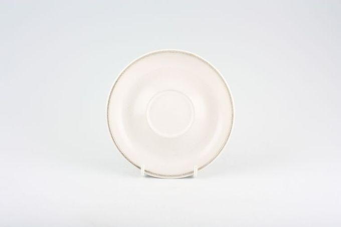 "Denby Troubadour Tea Saucer plain 5 3/4"""