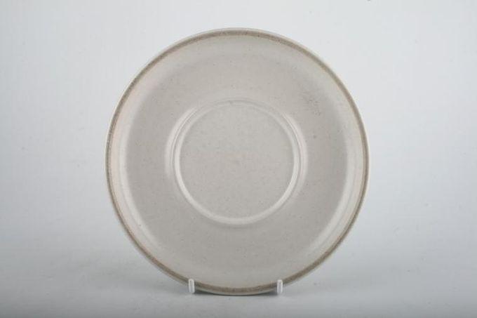 "Denby Troubadour Breakfast Saucer Same as Sauceboat Stand 6 3/4"""