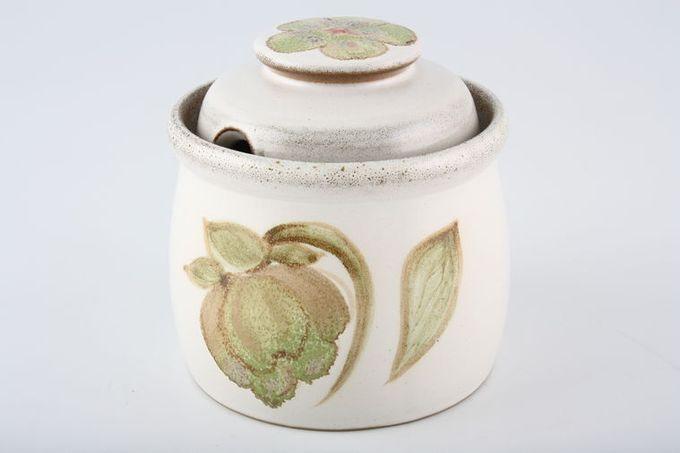 Denby Troubadour Jam Pot + Lid Also Sugar Bowl