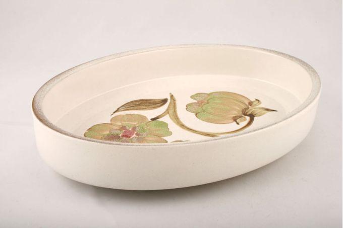 "Denby Troubadour Serving Dish oval 11 1/2"""
