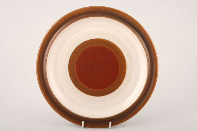 Denby Potters Wheel - Tan Centre Dinner Plate Please note that items may vary in shade on all items in this pattern 10""