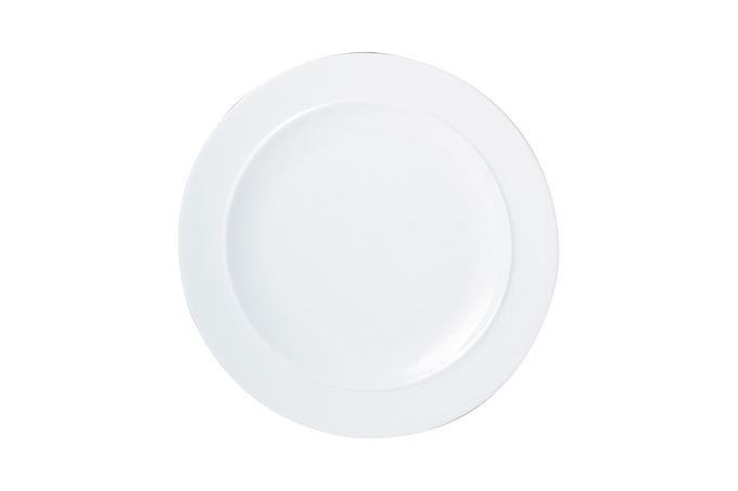 """Denby White Dinner Plate 11 1/2"""""""