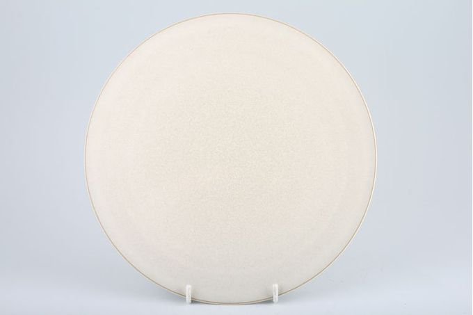 """Denby Drama Breakfast / Salad / Luncheon Plate Cream - Coupe - Shades may vary 9 1/4"""""""