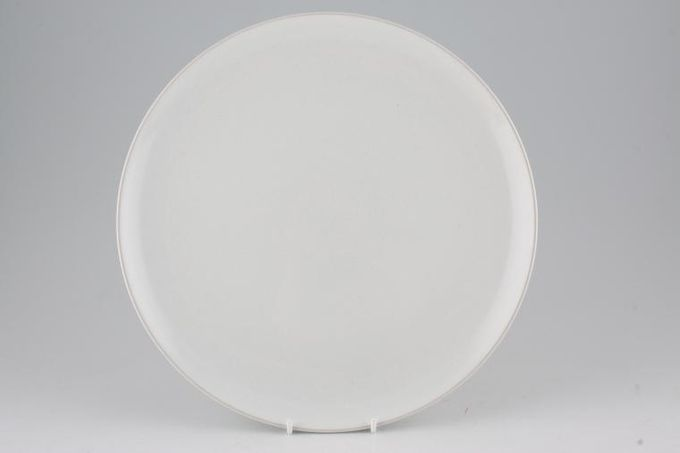 Denby Light and Shade Dinner Plate Chalk 11""