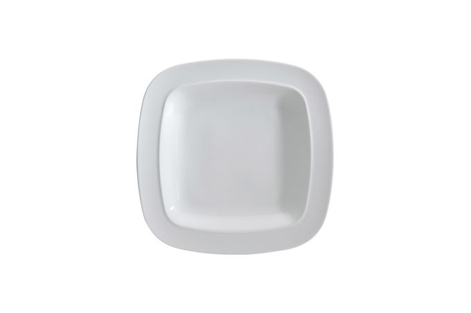 "Denby White Squares Tea / Side Plate 7 1/2"""