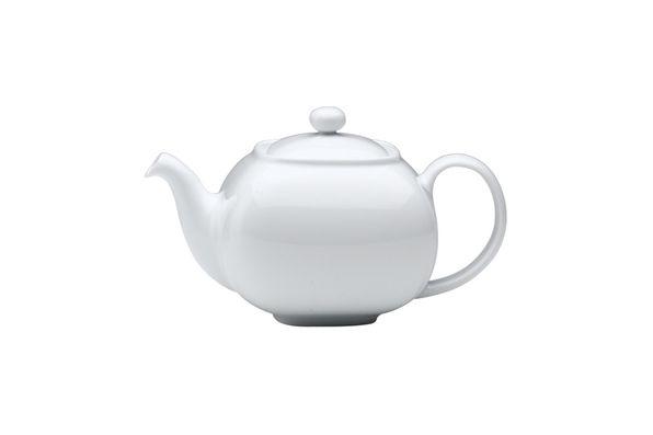 Denby White Squares Teapot