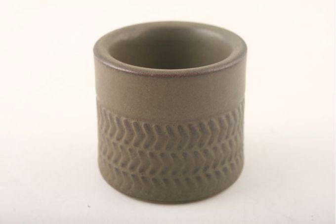 "Denby Chevron Egg Cup 2 x 1 3/4"""