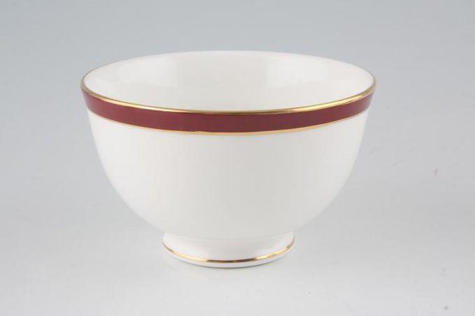 "Duchess Warwick - Red Open Sugar Bowl 4 1/4"""