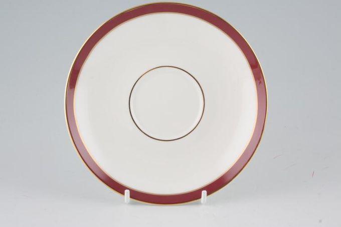 """Duchess Warwick - Red Tea Saucer 5 5/8"""""""