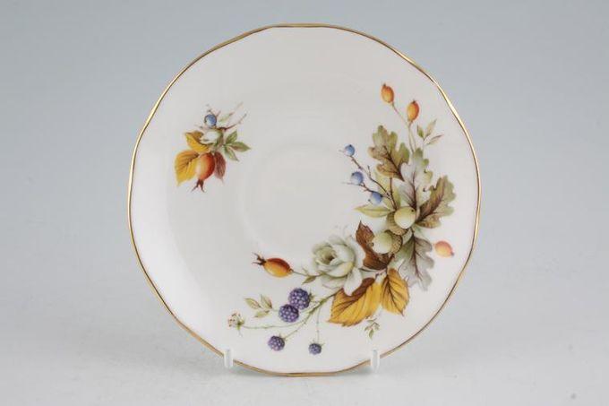 "Duchess Autumn Tea Saucer 5 1/2"""