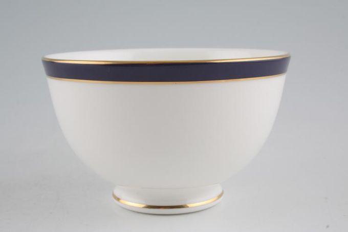 "Duchess Warwick - Blue Sugar Bowl - Open (Tea) 4 1/4"""