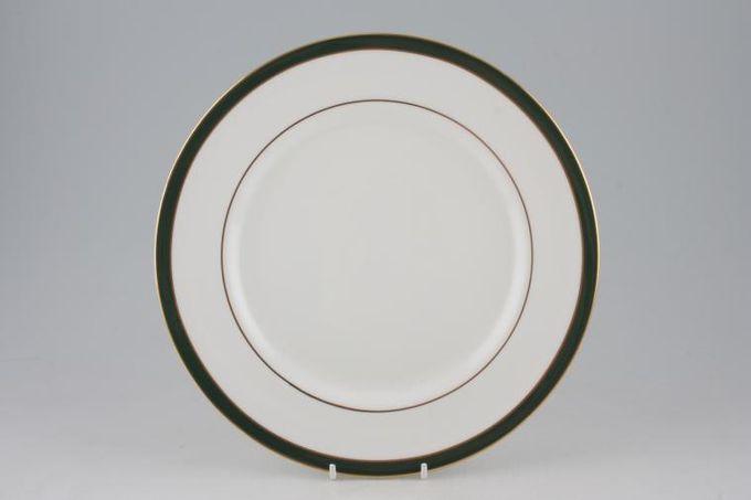 """Duchess Warwick - green Dinner Plate 10 3/8"""""""