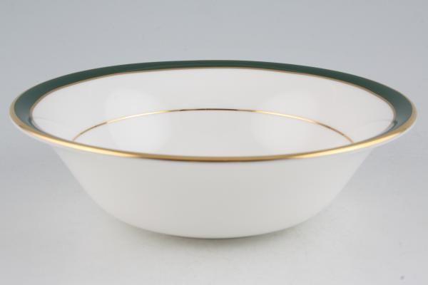 "Duchess Warwick - green Oatmeal / Cereal / Soup 6 1/2"""