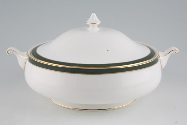 Duchess Warwick - green Vegetable Tureen with Lid