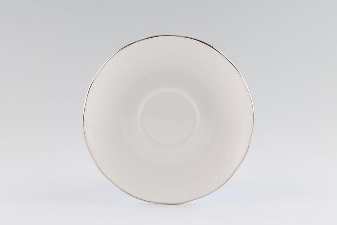 """Duchess Ascot - Platinum Tea Saucer 5 1/2"""""""
