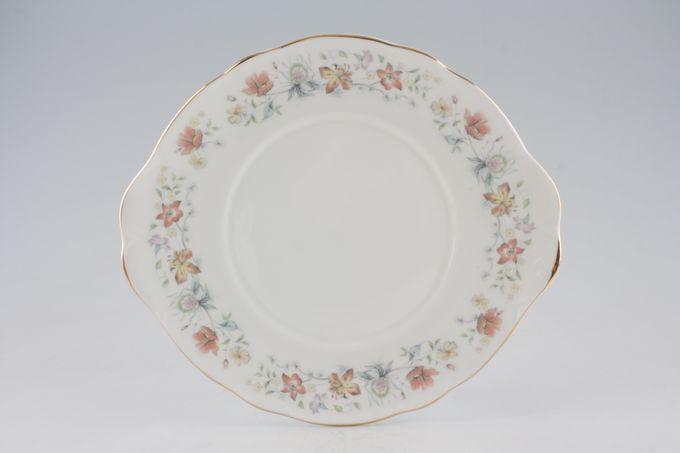 "Duchess Evelyn Cake Plate eared 10 1/8"""