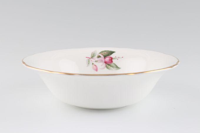 "Duchess Fuchsia Soup / Cereal Bowl 6 1/2"""