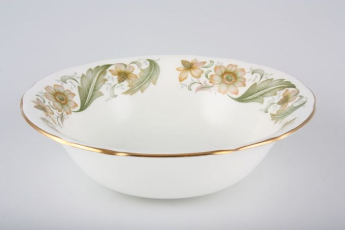 """Duchess Greensleeves Soup / Cereal Bowl Yellow Flowers 6 1/2"""""""