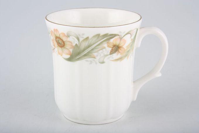 """Duchess Greensleeves Mug ribbed sides 3 x 3 1/4"""""""