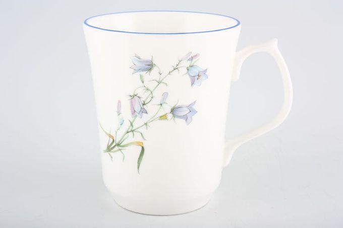 "Duchess Harebell Mug Blue edge 3 1/8 x 3 3/4"""