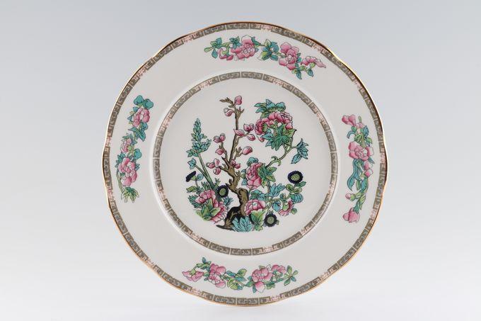 "Duchess Indian Tree Dinner Plate Wavy Edge 10 3/8"""